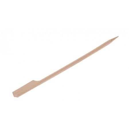 Pincho de bambú con agarrador