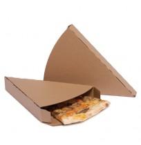 Funda porción pizza cubierta kraft