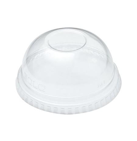Tapa p/ vasos transparentes PET