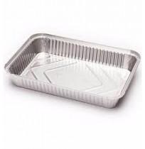 Envases de aluminio rectangulares para canelones
