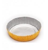 Cápsula de aluminio redonda