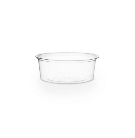 Salsera transparente 2oz compostable PLA