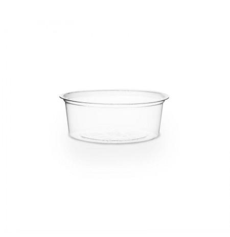 Salsera transparente 2oz compostable PLA