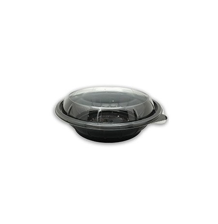 Bowl negro 750cc + tapa transp. RPET