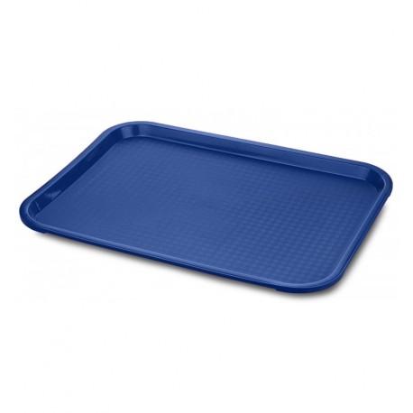 Bandeja azul fast food PP