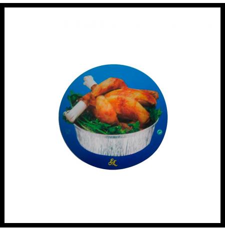 Envase de pollo alto