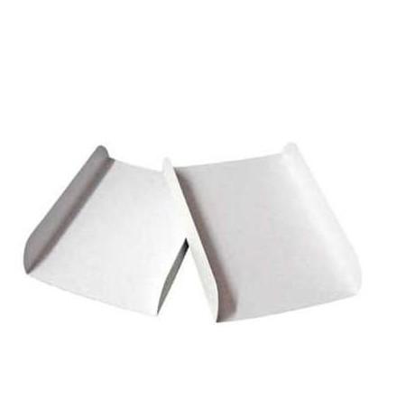 Palas de gofre blancas