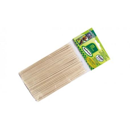Pincho de bambú
