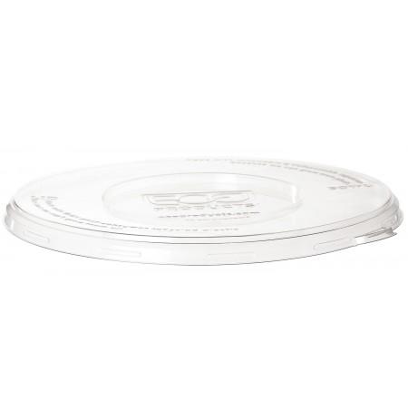 Tapa compostable para bowl de fideos y cupé RPET 16-46 OZ