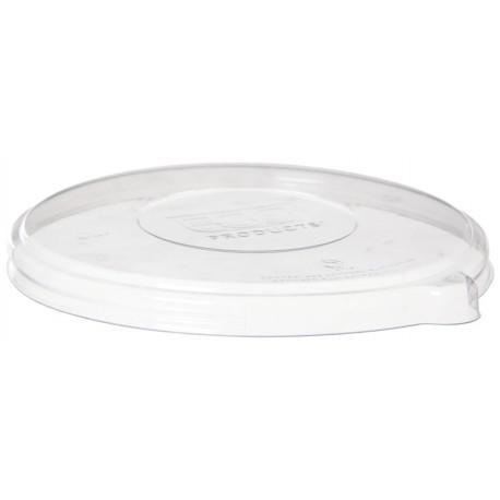 Tapa compostable para bowl de caña de azúcar