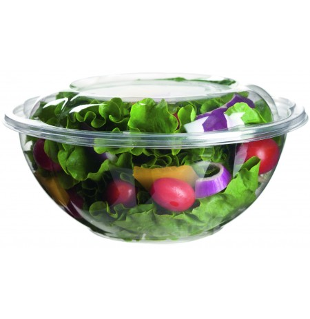 Bowl para ensalada compostable + tapa
