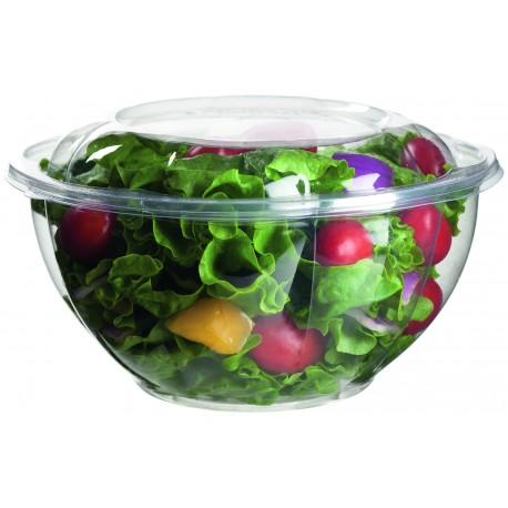 Bowl para ensalada compostable + tapa