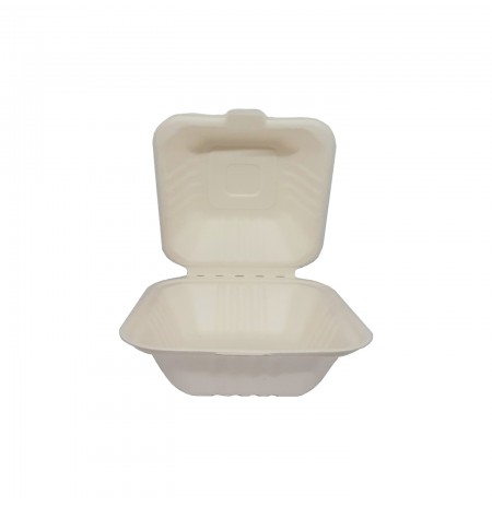 ENVASE HAMBURGUESA 100% COMPOSTABLE