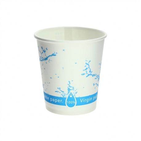 Vaso cartón 200ml (7oz) para agua