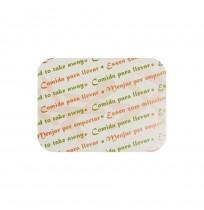 Tapas de cartón para envase lasaña