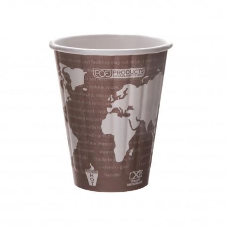 Vasos de cartón para bebidas calientes World Art