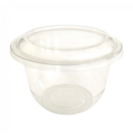 Tarrina de plástico redonda TRIPOT PET