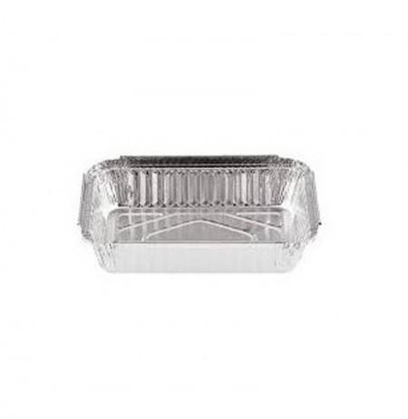 Envases de aluminio rectangular para lasaña