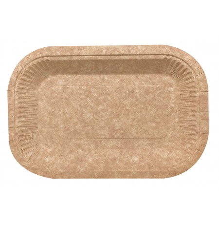 Bandeja Horeca Kraft COMPOSTABLE 15x23 cm