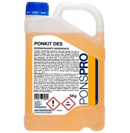 Desengrasante Higienizante PONKIT DES