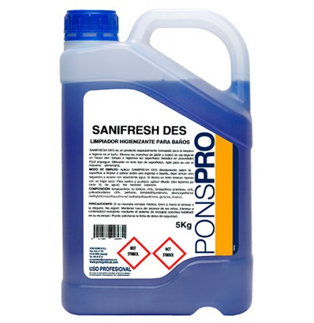 Limpiador Higienizante Baños SANIFRESH DES