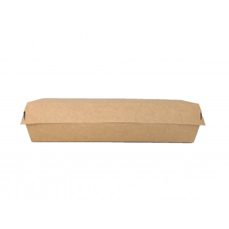 Envase cartón Kraft Baguette 1377