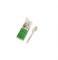Cucharilla biodegradable de maíz