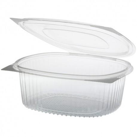 Envases bisagra oval PET