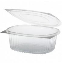 Envases bisagra oval RPET